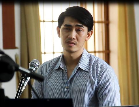 Bị cáo Phạm Châu Tony tại phiên sơ thẩm TAND TPHCM