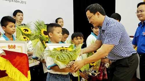 Nhiều học sinh tiểu học đạt giải trong cuộc thi
