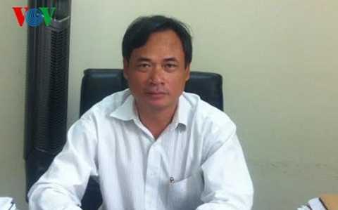 Ông Lương Duy Hanh, Cục trưởng Cục Kiểm soát hoạt động bảo vệ môi trường.