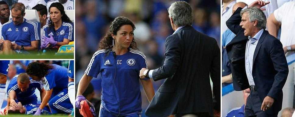 Mourinho nổi đóa với bộ phận y tế Chelsea