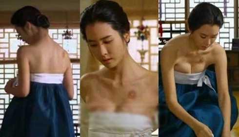 Lee Da Hae bị chỉ trích vì khoe ngực quá đà trong cảnh chữa bệnh
