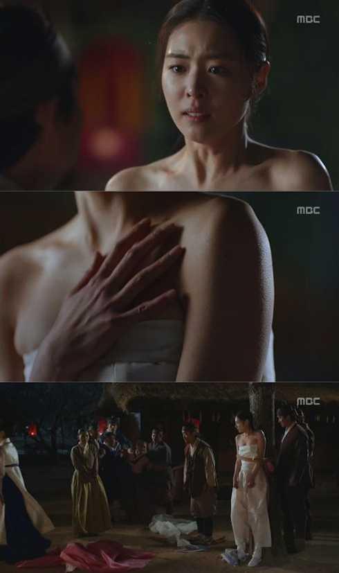 Nữ diễn viên Lee Yeon Hee trong phim truyền hìnhCửu gia thư