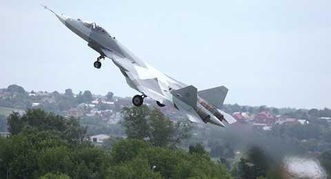 Chiến đấu cơ tàng hình Sukhoi PAK-FA của Nga