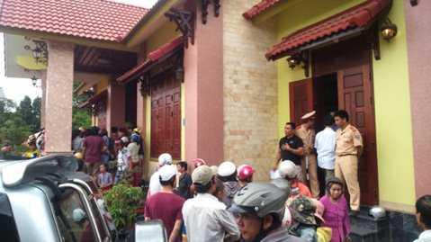 Hiện trường vụ thảm sát ở Bình Phước