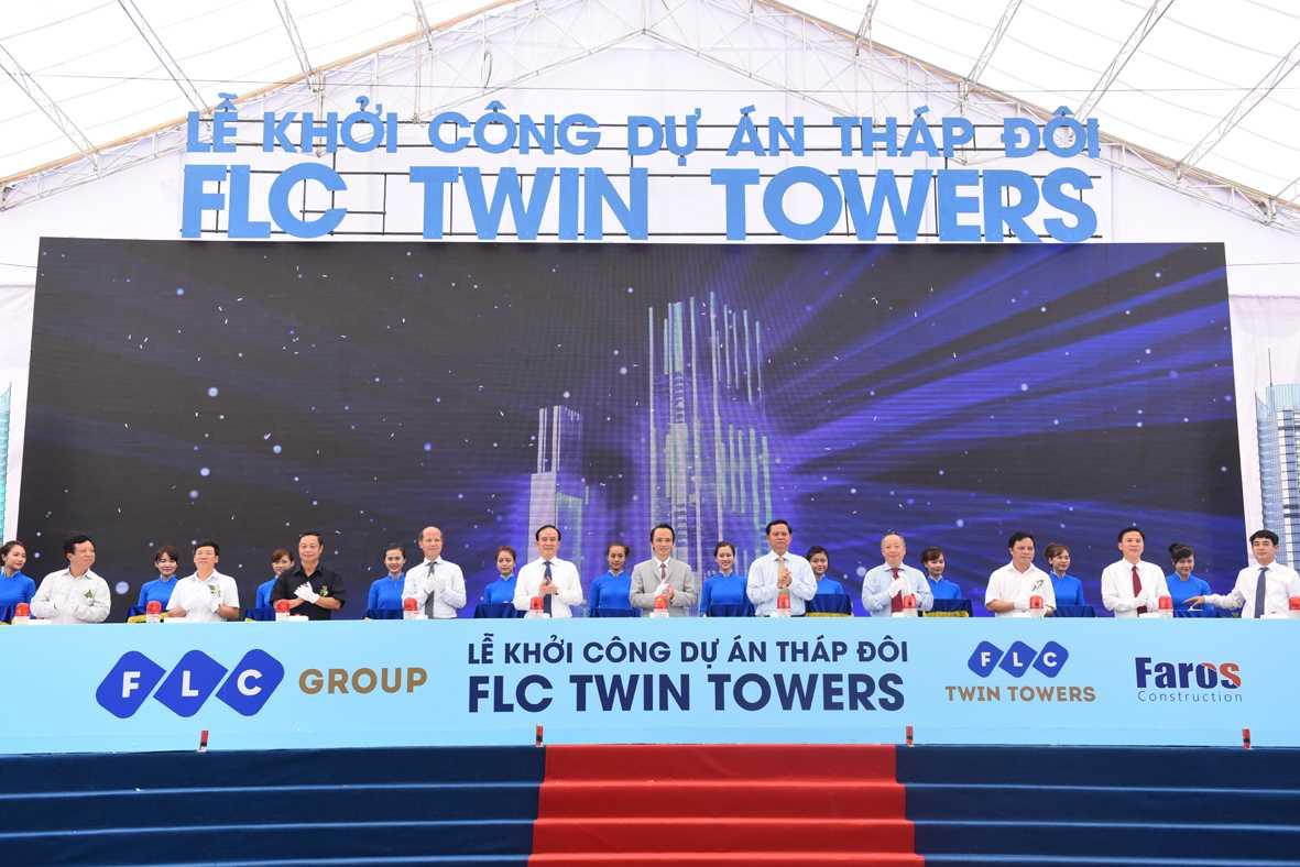Lễ khởi công dự án Tháp đôi FLC Twin Towers – 265 Cầu Giấy đã được tổ chức vào ngày 8/8
