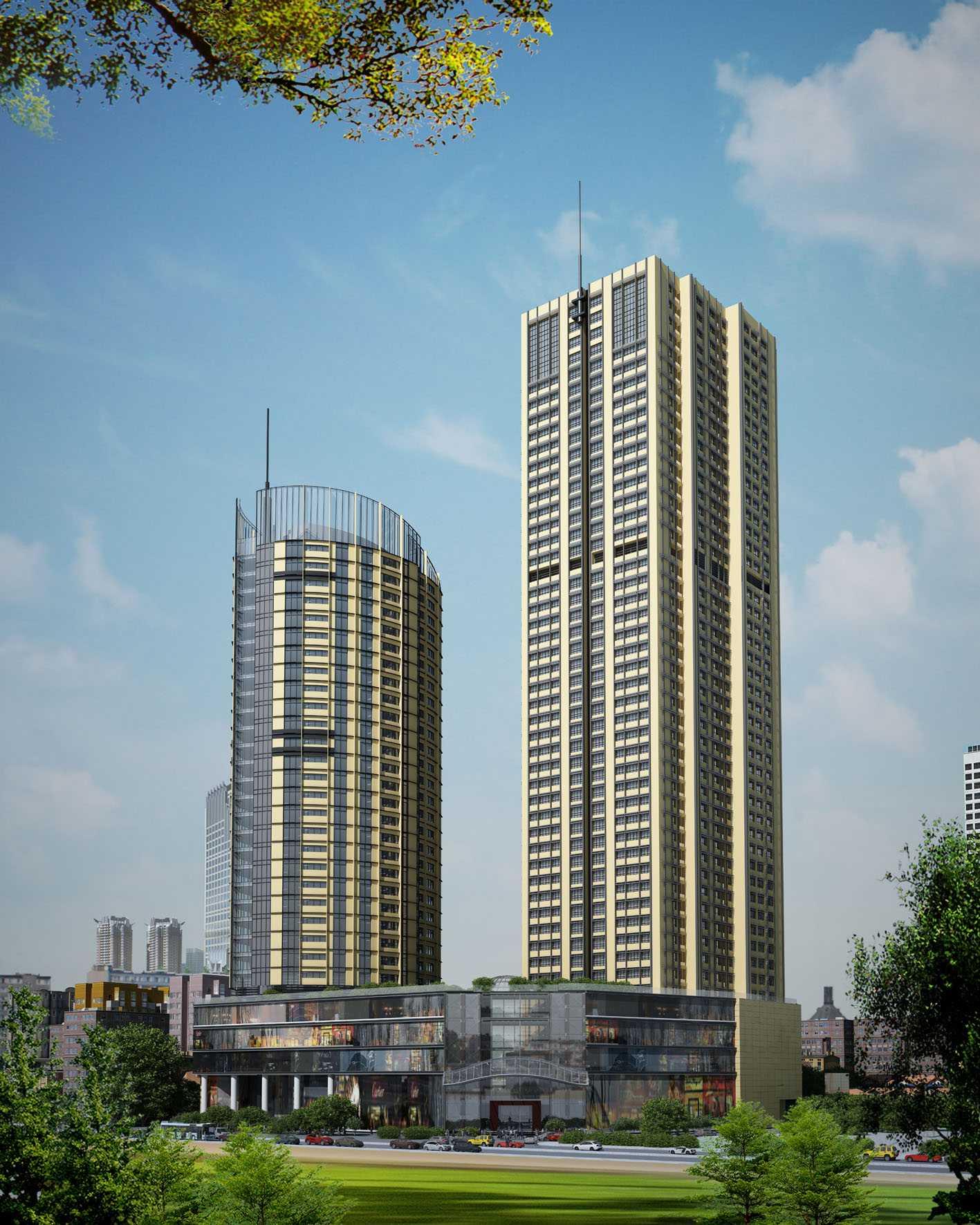 Phối cảnh dự án Tháp đôi FLC Twin Towers