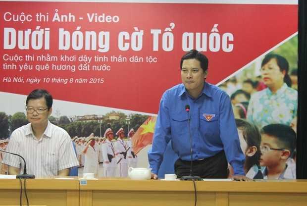 Anh Lê Quang Tự do chia sẻ tại buổi hợp báo.