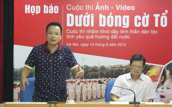 Nhiếp ảnh gia Sơn Dương.