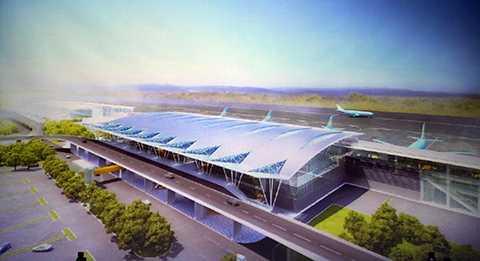 Dự án xây dựng Nhà ga quốc tế mới có tổng mức đầu tư dự kiến 3.200 tỷ đồng.