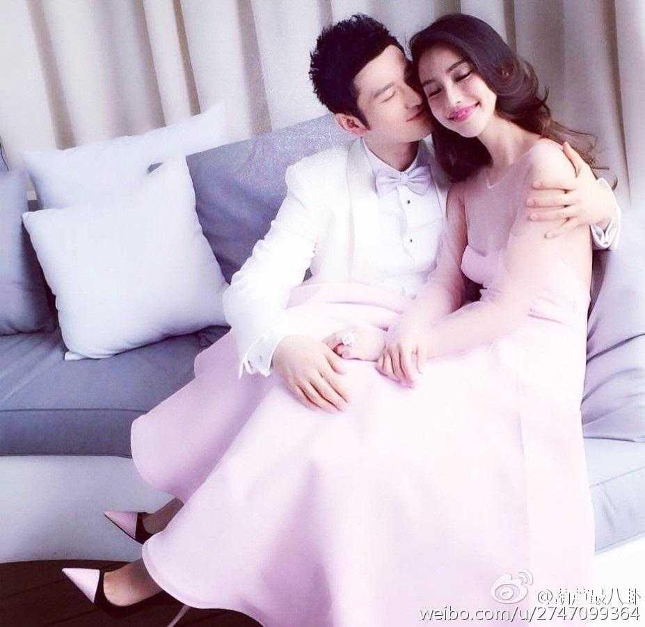 Cặp đôi Huỳnh Hiểu Minh - Angelababy sẽ lên xe hoa vào ngày 8.10 tới