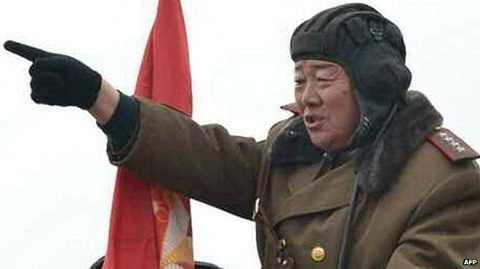 Tướng Hyon Yong Chol của Triều Tiên
