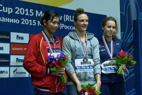 Ánh Viên giành HCB ở giải World Cup bơi lội