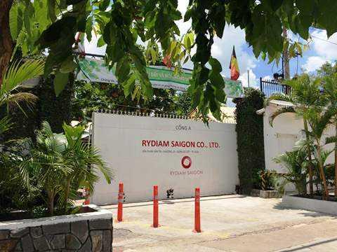 Trụ sở công ty Rydiam tại quận Gò Vấp, TP.HCM ngày 14/8. Ảnh: Phan Cường