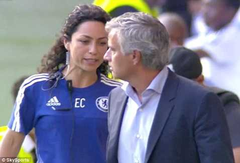 Mourinho đã chửi thề với nữ bác sĩ Eva
