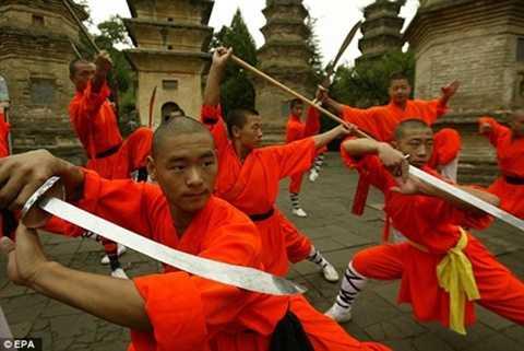 Các võ tăng, võ sinh Thiếu Lâm tự