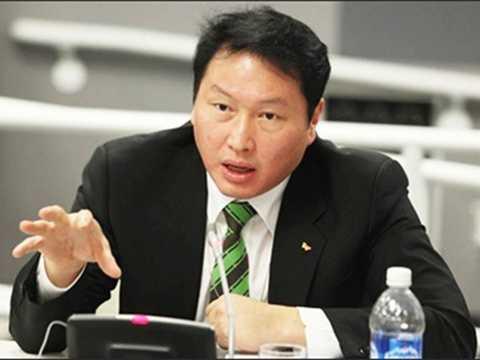 Cơ cấu cổ phần do gia đình Chủ tịch Chey Tae-won thâu tóm trước thời điểm sáp nhập SK C&C và SK Holdings