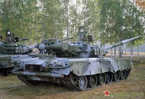 Xe tăng T-80BV của Nga