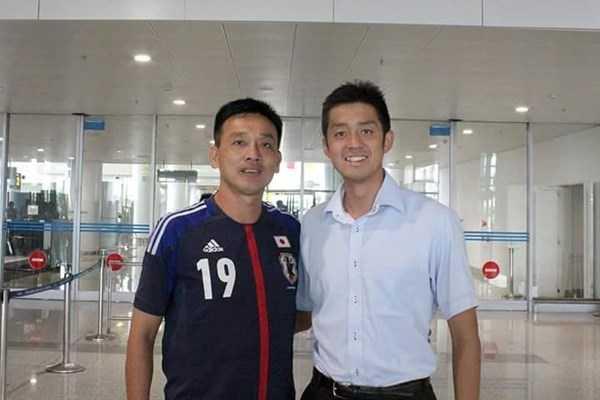 Trọng tài Nhật Takube Okabe bắt trận cầu đinh V-League