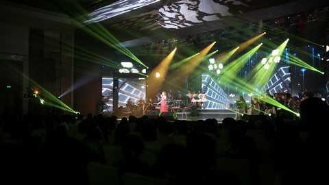 Hòa âm, ánh sáng, tạo hình sân khấu được Ban tổ chức chăm chút đặc biệt