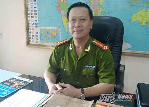 Đại tá Hà Minh Tân.
