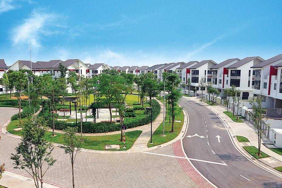 Dãy nhà song lập, một trong những sản phẩm chiến lược của Khu đô thị Gamuda Gardens