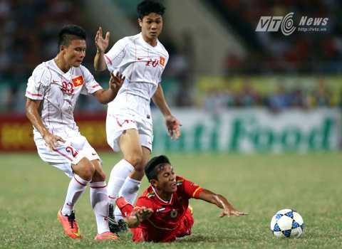 Quang Hải trong màu áo U19 Việt Nam giành Á quân U19 Đông Nam Á 1 năm trước (Ảnh: Quang Minh)