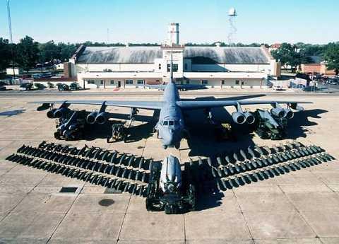 Máy bay ném bom chiến lược B-52 Stratofortress của Mỹ