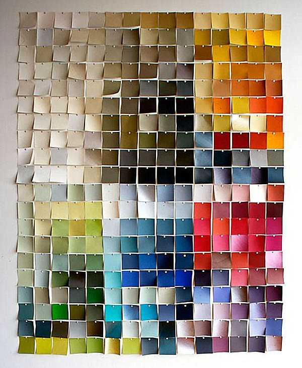 Chỉ cần biết cách phối màu những mảnh giấy note là bức tường của bạn trông thật