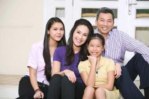 Gia đình hạnh phúc của Diễm My