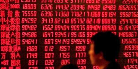 Thị trường chứng khoán Trung Quốc tiếp tục nhuộm trong sắc đỏ