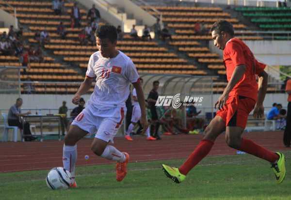 U19 Việt Nam thắng trận ra quân chưa thuyết phục