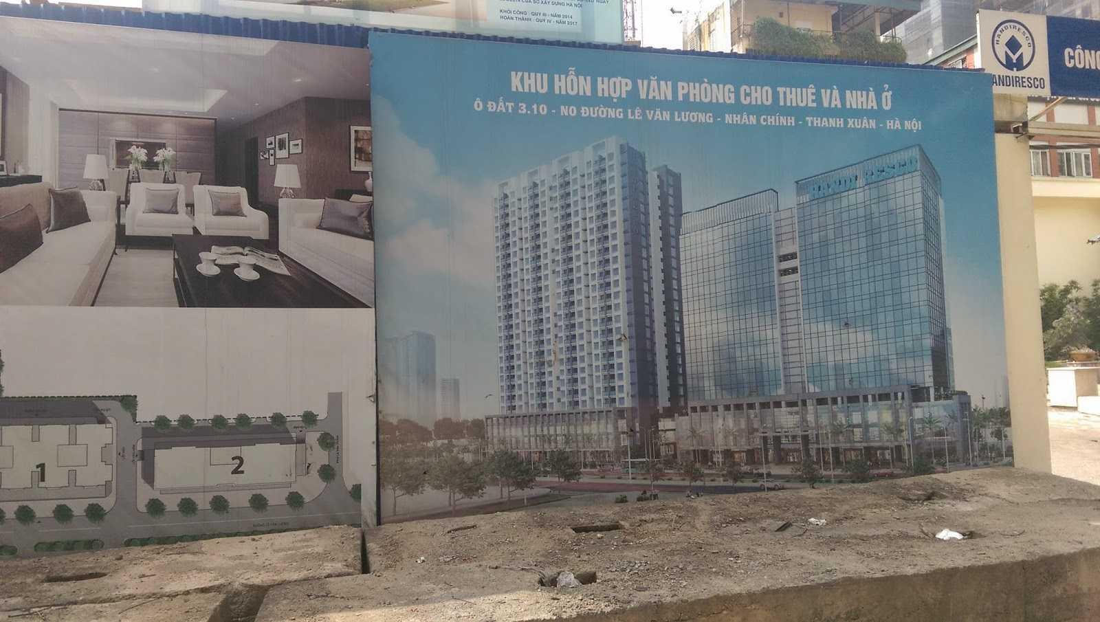 Dự án HandiResco nợ thuế dù đã bán nhà