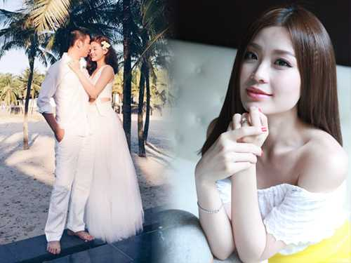 Á hậu Diễm Trang hạnh phúc cùng vị hôn phu