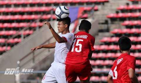 U19 Việt Nam không quá khó khăn để kiểm soát thế trận trước U19 Singapore