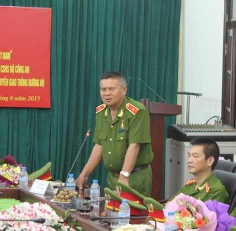 Thiếu tướng Hồ Sĩ Tiến, Cục trưởng Cục cảnh sát hình sự