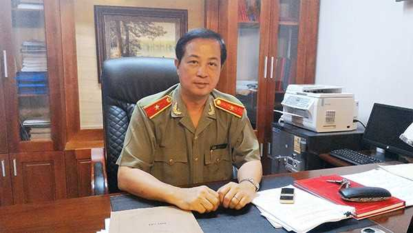 Thiếu tướng, PGS.TS Đỗ Ngọc Cẩn. Ảnh: Công An Nhân Dân.