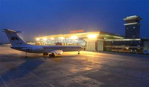 Hình ảnh sân bay Bình Nhưỡng của Triều Tiên mới sau khi được nâng cấp