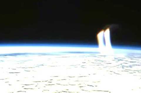 Hình ảnh trong video nhằm chứng minh người ngoài hành tinh có thật