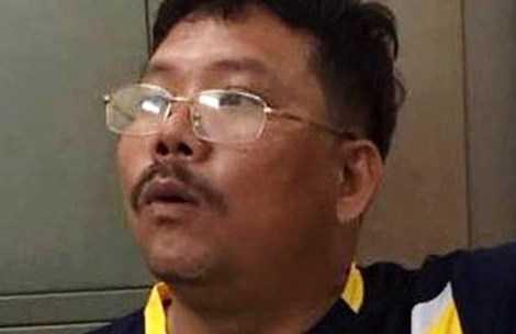 Trần Văn Thới- nghi can cầm đầu đường dây bán logo