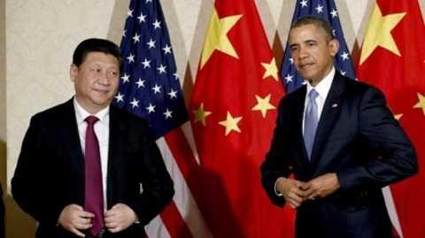 Tổng thống Mỹ Barack Obama và nhà lãnh đạo Trung Quốc Tập Cận Bình tại một cuộc họp năm 2014