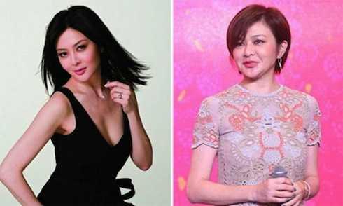 Nếu so với ảnh chụp tạp chí, Quan Chi Lâm ngoài đời trông có vẻ trẻ hơn tuổi 53 nhưng vẻ mặt lại căng cứng thiếu tự nhiên