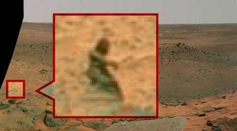 một vị thần đang đi lang thang hay không ( Bức ảnh được chụp vào năm 2008.).