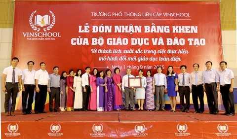 Ban Giám hiệu Trường PTLC Vinschool khẳng định quyết tâm tiếp tục đổi mới mạnh mẽ trong năm học mới 2015 – 2016
