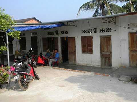 Nhà trọ nơi cặp tình nhân chết - Ảnh: Thanh Hà