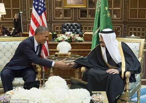 Nhà vua Ả Rập sẽ có cuộc gặp gỡ với Tổng thống Obama tại Nhà Trắng vào thứ sáu tới.