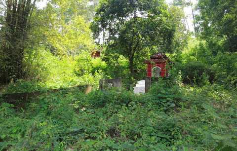 Nghĩa địa Noong Bua, nơi chôn xác cô Vũ Thị L. bị sét đánh