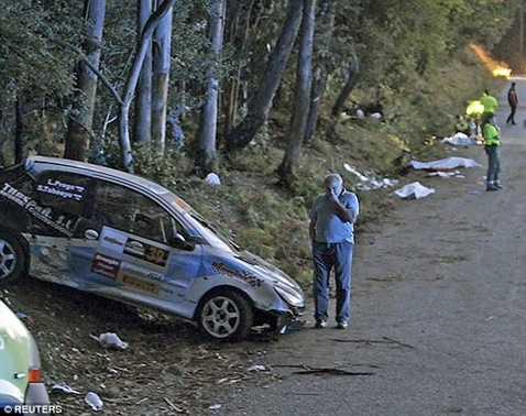 Những nạn nhân xấu số của vụ tai nạn đua xe kinh hoàng ở La Coruna