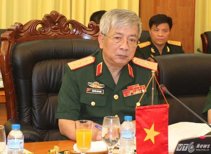 Thượng tướng Nguyễn Chí Vịnh, Thứ trưởng Quốc phòng Việt Nam Ảnh: Hồng Pha