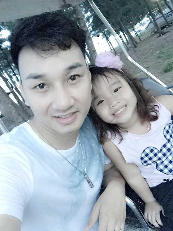 Con gái Thành Trung có nhiều nét giống ba.