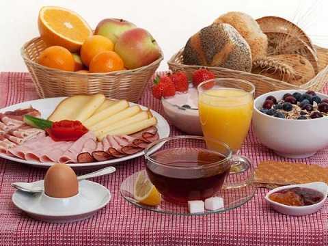 Bữa sáng đầy đủ cung cấp năng lượng hoạt động cho não bộ
